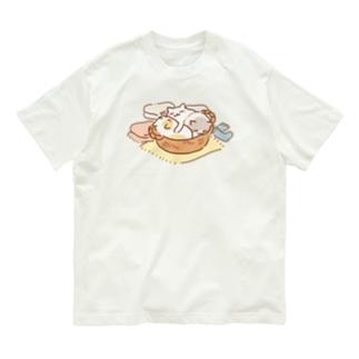 かごキャット Organic Cotton T-Shirt