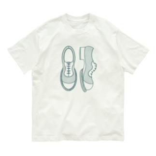 シンプル革靴 薄め Organic Cotton T-Shirt