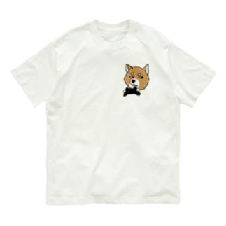 豆柴ロック Organic Cotton T-Shirt