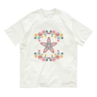 わくわくなヒトデ Organic Cotton T-Shirt