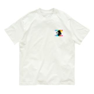 金魚花_colorful Organic Cotton T-Shirt