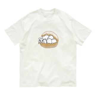 うさトッツォ(おしりver.) Organic Cotton T-shirts