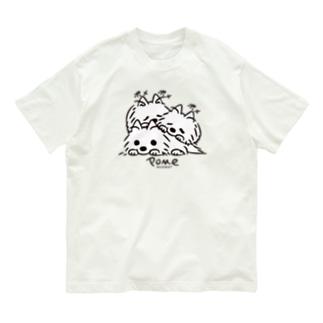 いつでも待機中のつづき_F*L配置 Organic Cotton T-Shirt