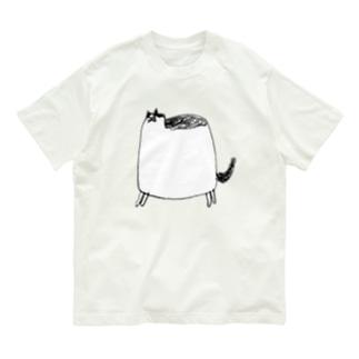 ぶくぶくねこ Organic Cotton T-Shirt