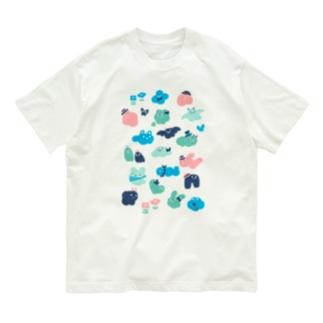 もくもくお化けたち Organic Cotton T-shirts