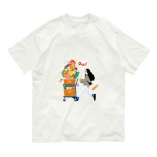 Autumn Shopping(クリア) Organic Cotton T-Shirt