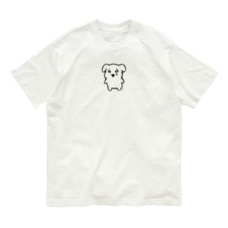 なんで泣いてんのよよT(黒線) Organic Cotton T-shirts