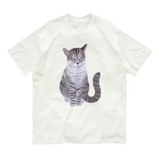 ギザ耳CAT Organic Cotton T-Shirt