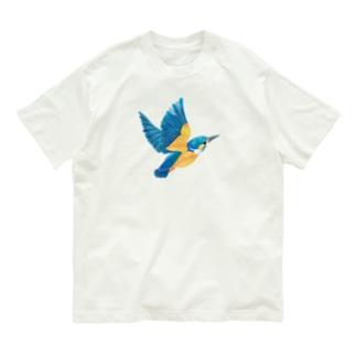 カワセミ Organic Cotton T-Shirt