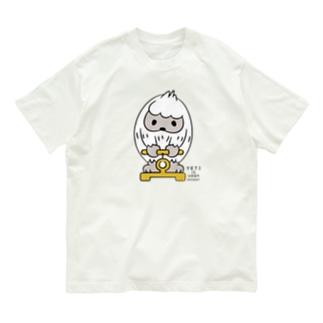 はいきんりょくチェック*L配置 Organic Cotton T-Shirt