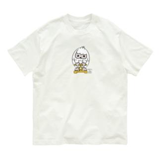 はいきんりょくチェック*M配置 Organic Cotton T-Shirt