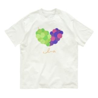 ハートの葡萄 Organic Cotton T-shirts