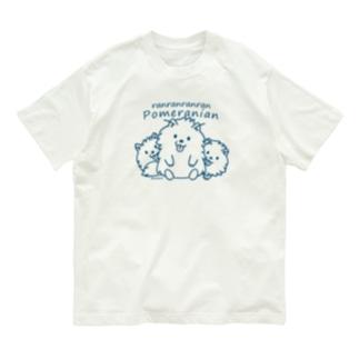らんらんらんらんポメラニアンB*L Organic Cotton T-Shirt
