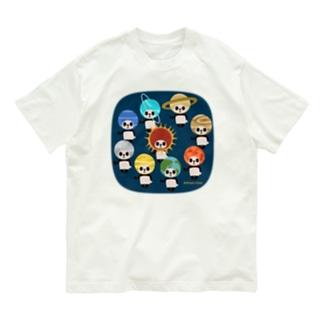 カブリモノ太陽系パンダ Organic Cotton T-Shirt