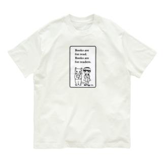 本と子どもたち Organic Cotton T-shirts