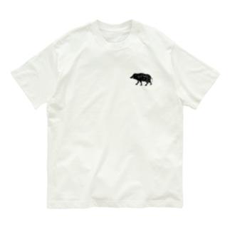 ジビT!〜ジビエを語ろう Organic Cotton T-Shirt