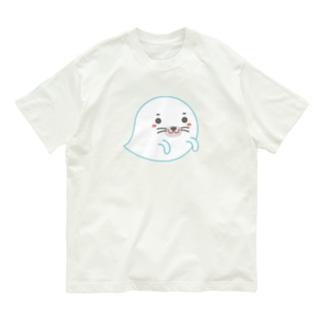 オバケあざらし Organic Cotton T-Shirt