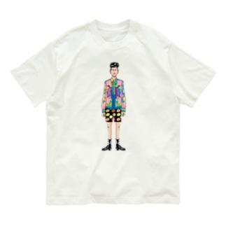 パーツイシバ/モデル Organic Cotton T-Shirt