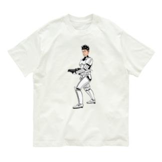 パーツイシバ/宇宙戦士 Organic Cotton T-Shirt