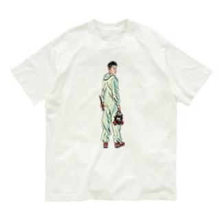 パーツイシバ/ヤンキー Organic Cotton T-Shirt