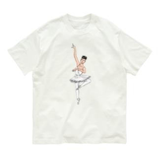 パーツイシバ/バレリーナ Organic Cotton T-Shirt