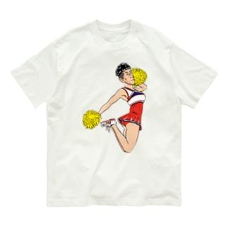 パーツイシバ/チアガール Organic Cotton T-Shirt