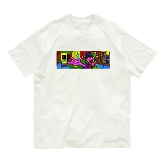 パーツイシバ/ネオ東京 Organic Cotton T-Shirt