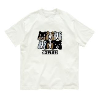 シェルティーず Organic Cotton T-Shirt