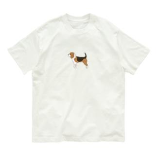 ビーグル Organic Cotton T-Shirt