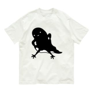 ホラーズシルエット★足生えちゃった?ゴースト Organic Cotton T-shirts