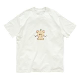 ちびくまちゃん໒꒱˚.* Organic Cotton T-Shirt