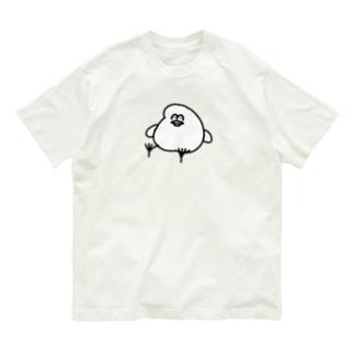 とりもち Organic Cotton T-shirts