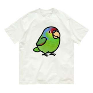 Chubby Bird フジイロボウシインコ Organic Cotton T-shirts