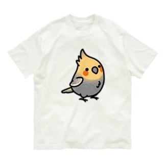 Chubby Bird オカメインコ Organic Cotton T-shirts