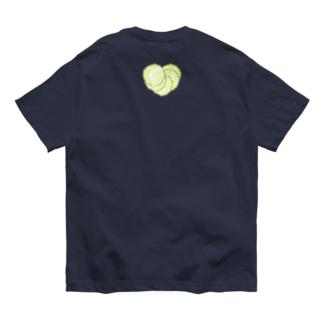 I LOVE …『胡瓜』  Organic Cotton T-shirts