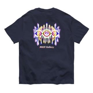 Melting eyes_hologram #2 Organic Cotton T-shirts
