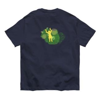 疲れを知らず泳いで(海の月) Organic Cotton T-shirts