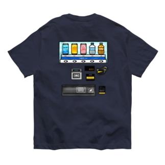 【バックプリント】 つめた〜い 自動販売機 Organic Cotton T-shirts