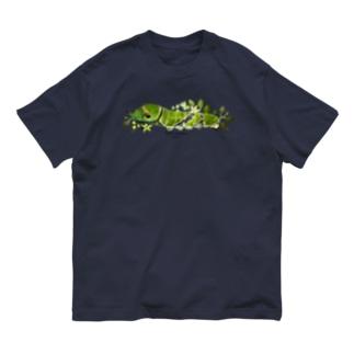 クロアゲハイモムシ Organic Cotton T-shirts