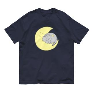 ねこくんとお月さま Organic Cotton T-shirts