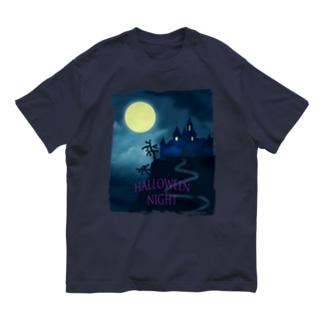 Halloween night Organic Cotton T-shirts
