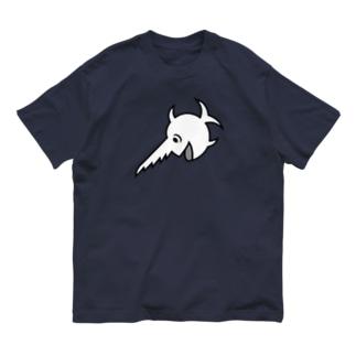 笑うノコギリザメ Organic Cotton T-shirts