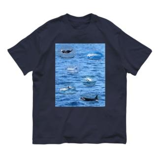 船上から見た鯨類(1) Organic Cotton T-shirts