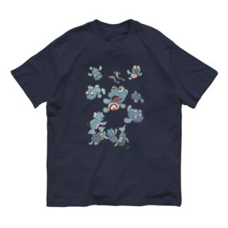 10匹のガタと2匹のスボ Organic Cotton T-shirts
