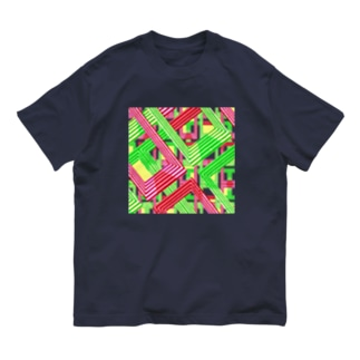 パステル電子回路 Organic Cotton T-shirts