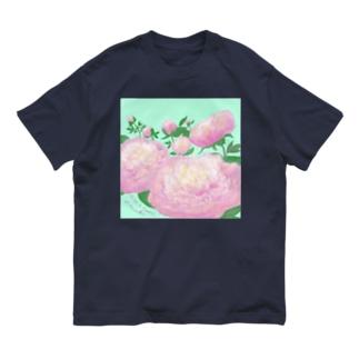《 💞Happy Peony💕 》 Organic Cotton T-shirts