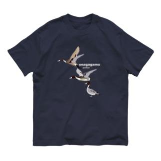 オナガガモ さん、かっこいいです Organic Cotton T-shirts