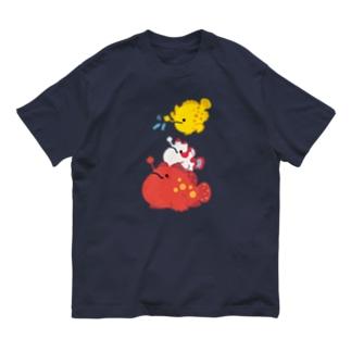 もちもちカエルアンコウ's Organic Cotton T-shirts
