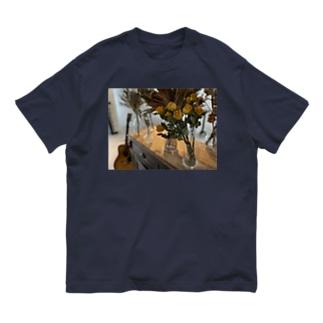 ドライフラワー Organic Cotton T-shirts