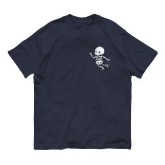 おばけTシャツ<ガイコツ> Organic Cotton T-shirts